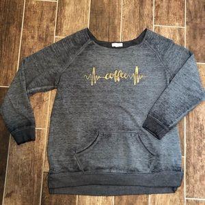 Z by ZOBHA Sweatshirt XXL Coffee women's